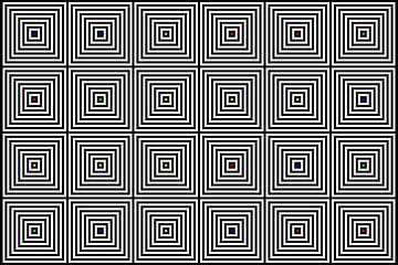 Nested | Center | 06x04 | N=08 | Random #01 | RGBY van Gerhard Haberern