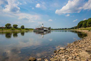 De Elbe bij Dresden van Sabine Wagner