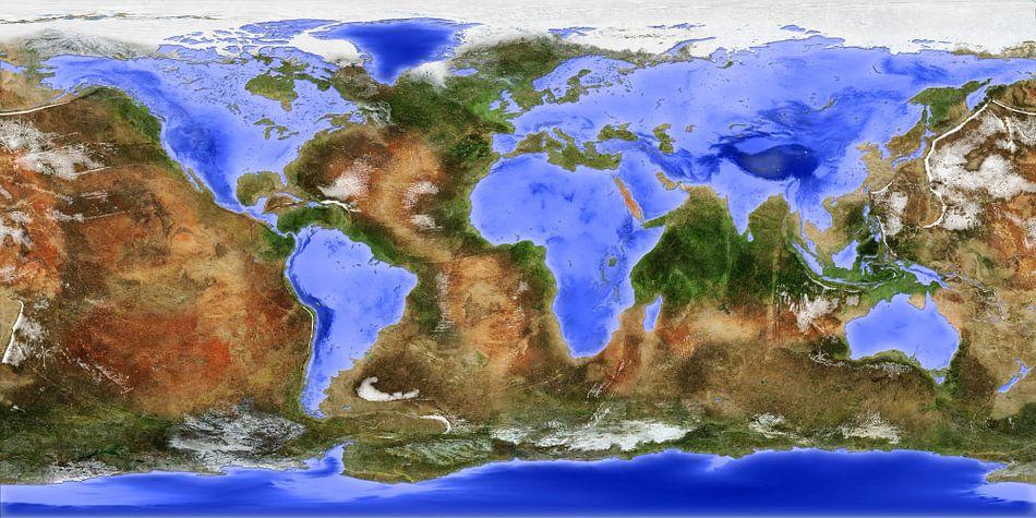 Die umgekehrte Welt - Version ohnen Namen von Frans Blok