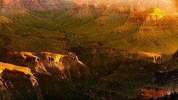 Landschaft Sonnenuntergang am  Grand Canyon Nationalpark in Arizona USA von Dieter Walther