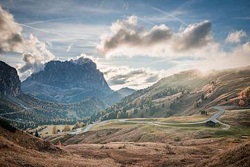Gardena Pass / Zuid-Tirol van Michael Blankennagel