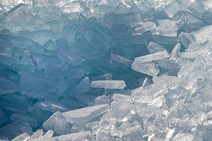 Een berg kruiend ijs