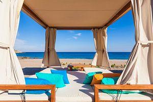 Lounge op het eiland Rhodos
