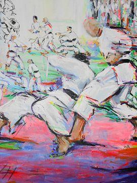 Karate - Shita ni von Lucia Hoogervorst