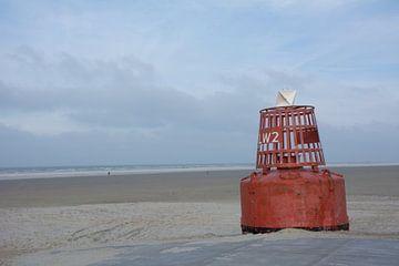 Boei op het strand van Mark Scholten
