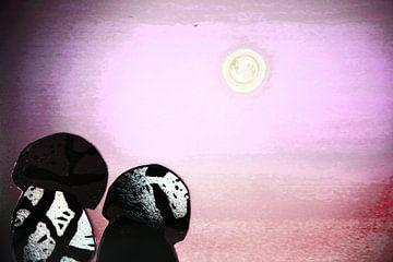 Vrienden bij volle maan van Els Rooijers