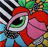 Het oog van Angelique van 't Riet thumbnail