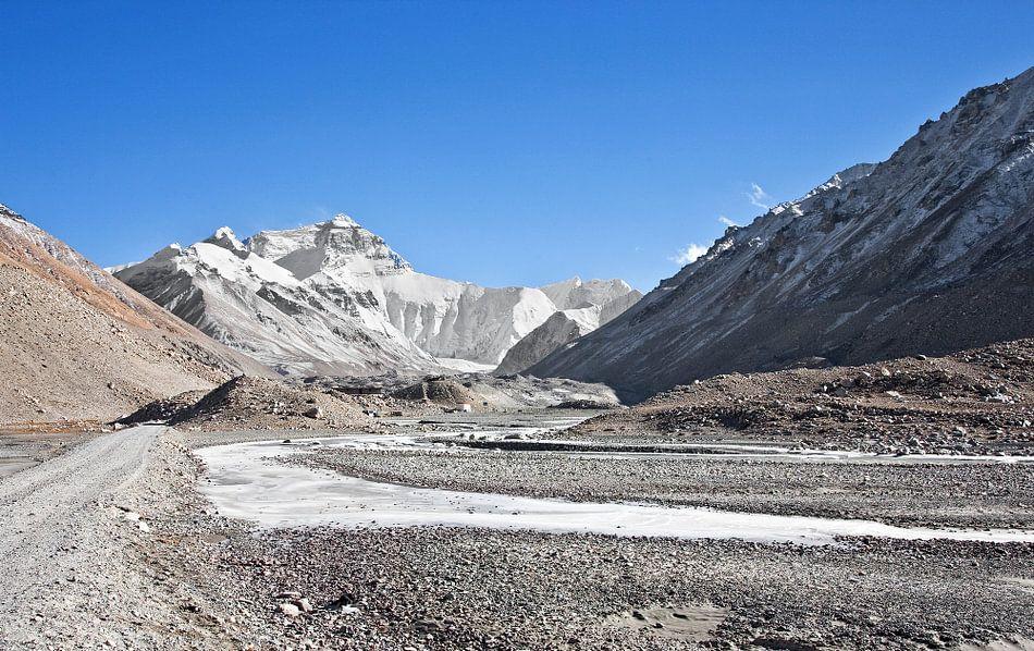 Op weg naar Mount Everest Tibet