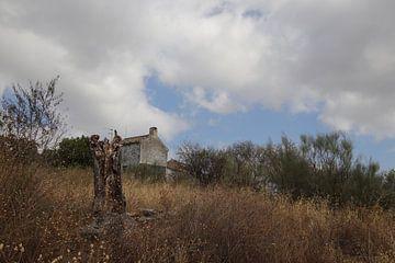 Ruine mit bedrohlicher Luft von jan katuin