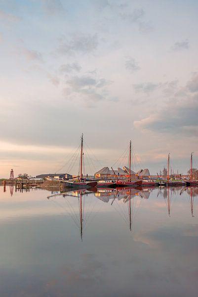 Reflectie haven Stavoren