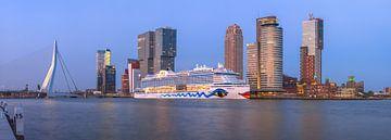 AIDA an der Spitze des Südens von Prachtig Rotterdam