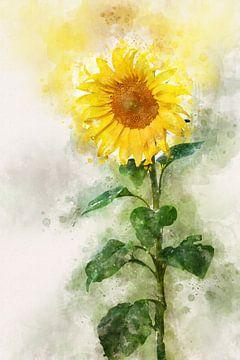 Bloemen17 van Silvia Creemers