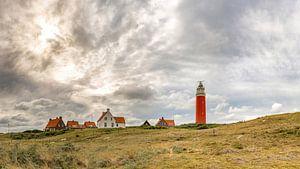 Texel - Vuurtoren Eierland - Zonsondergang van