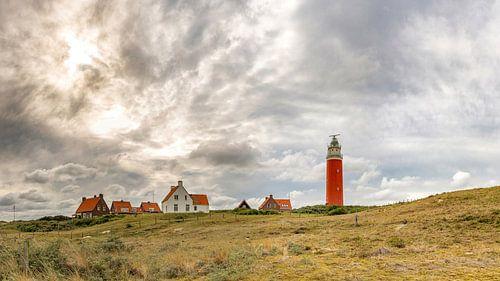 Texel - Vuurtoren Eierland - Zonsondergang von