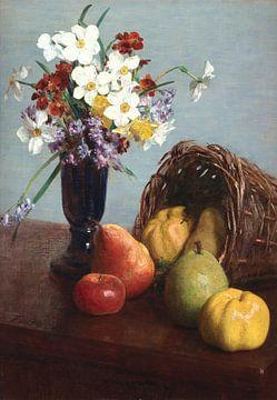 Obst und Blumen, Henri Fantin-Latour
