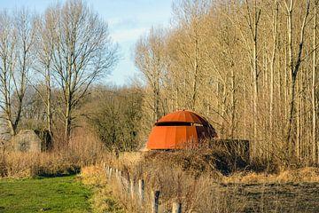 Vogelkijkhut bij Sleeuwijk van Ruud Morijn