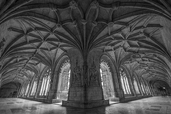 Mosteiro dos Jerónimos in Lissabon van MS Fotografie | Marc van der Stelt