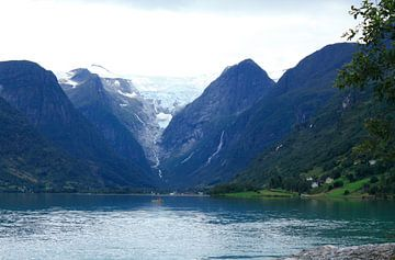 Gletsjer Jostedalsbreen Noorwegen von Margreet Frowijn