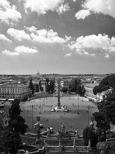 Piazza del Popolo - Rome van Jan Kooreman