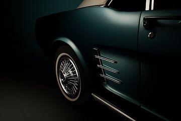 Ford Mustang 1966 van Thomas Boudewijn