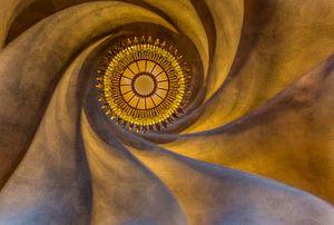 Decke von Gaudi in Barcelona