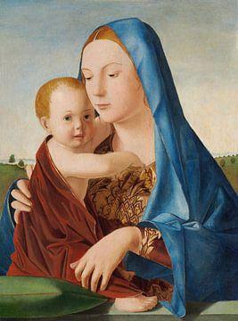Madonna mit Kind, Antonello da Messina