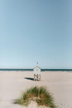 Maison de la noyade Terschelling Boschplaat Île des Wadden sur Manon Galama
