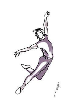 Der Tänzer von Ankie Kooi