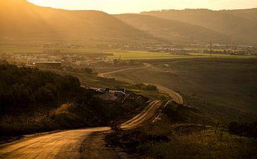 Weg nabij Arbel von Fotografie door Menno
