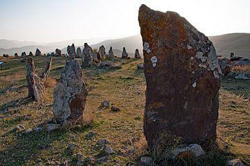 Stonehenge in Armenië: Zorats Karer van Anne Hana