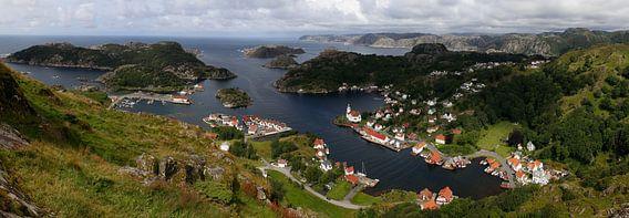 Kirkehamn - Noorwegen van Sybrand Treffers