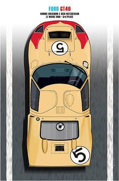 Bucknum-Hutcherson GT40 van Theodor Decker