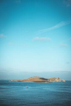 Ireland's Eye eiland in de Ierse Zee van Youri Zwart