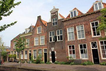 Grachtenpanden, Doelengracht, Leiden van Carel van der Lippe