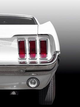 Amerikaanse klassieke auto Mustang 1967 van Beate Gube