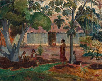 De grote boom, Paul Gauguin