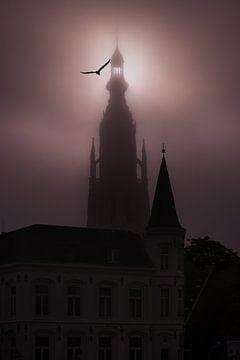 Grote kerk van Breda sur Esmeralda holman