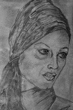Zigeuner rouw-Gypsy woman-Femme gitane- van aldino marsella