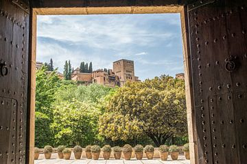 Granada, Alhambra van Anita Lammersma