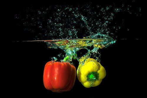 Paprika Splash von Hans van der Grient