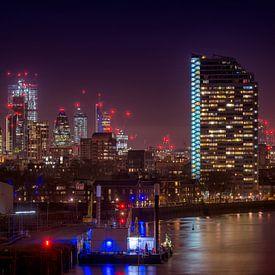 Londen bij nacht van Christa Thieme-Krus