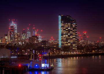 Londres la nuit sur Christa Thieme-Krus