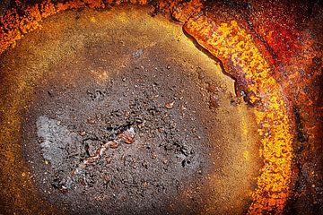 Verbrande schaal van Johanna Moesker