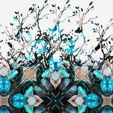 Edelstenen in symmetrie van Rietje Bulthuis