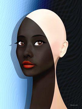 Mooi Zwart (2 van 2) van Ton van Hummel (Alias HUVANTO)