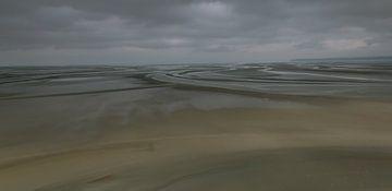 abstrakt gemacht durch Wind, Sand und Meer von Corrie Ruijer