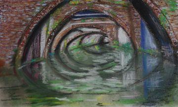 Nieuwegracht Utrecht (bruggen, bridges, Brücken, ponts)  van Catharina Mastenbroek