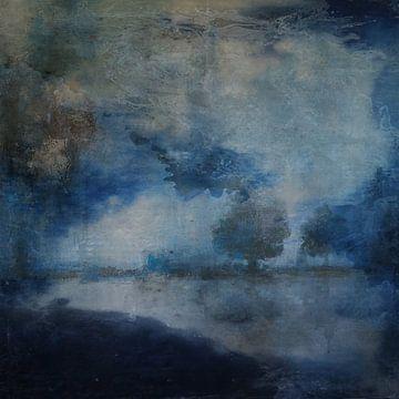 LANDSCAPE IN BLUE van Kelly Durieu