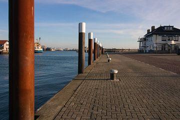 Hafen von Oudeschild (Texel) von Jeroen van Dijk