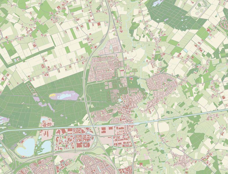 Kaart vanSon en Breugel